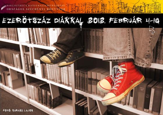 Országos Széchényi Könyvtár: Ezerötszázért diákkal