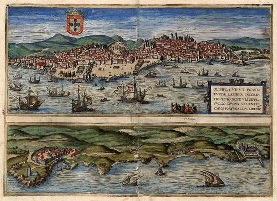 Országos Széchényi Könyvtár: Lisszabon (Lisbona) a XVI–XVII. század fordulóján