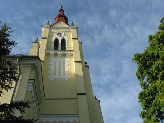 cserepfalu: Református templom Cserépfalu