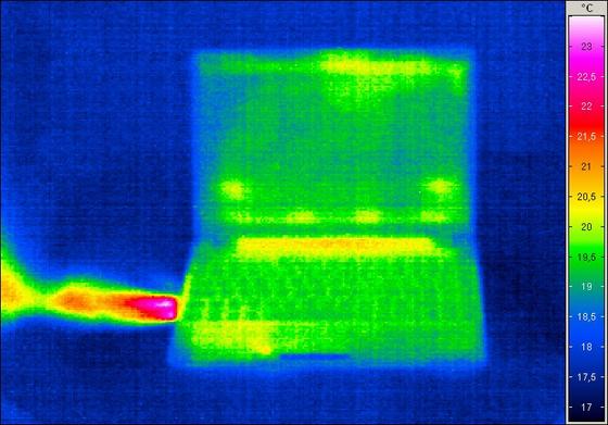 ASUS Eee PC 1201N melegedés
