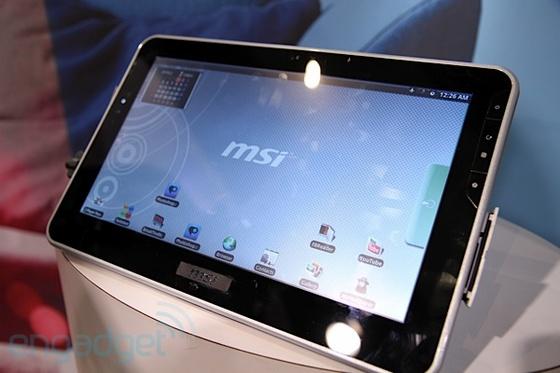 MSI tablet
