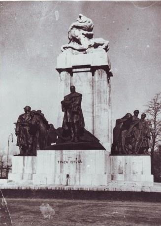 Tisza szobor 1934 s