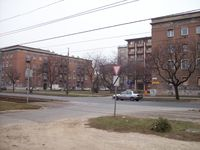 Emberléptékű lakótelep