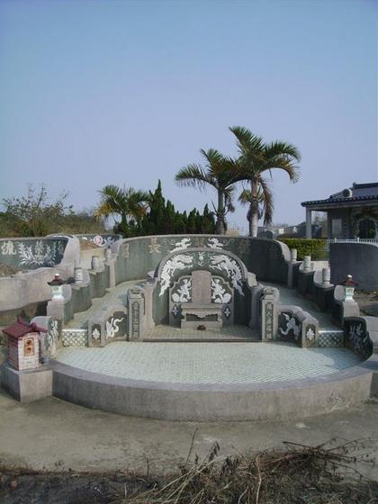 zhaoman: hagyományos temető, Tainan (Taiwan)