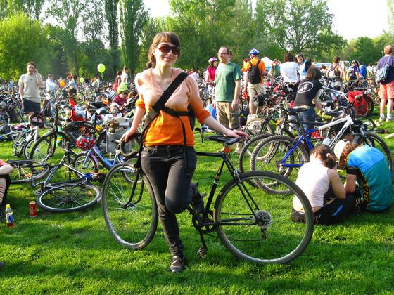 A Cyclechic.hu bemutatja: Critical Mass 2010 férfi és női arca