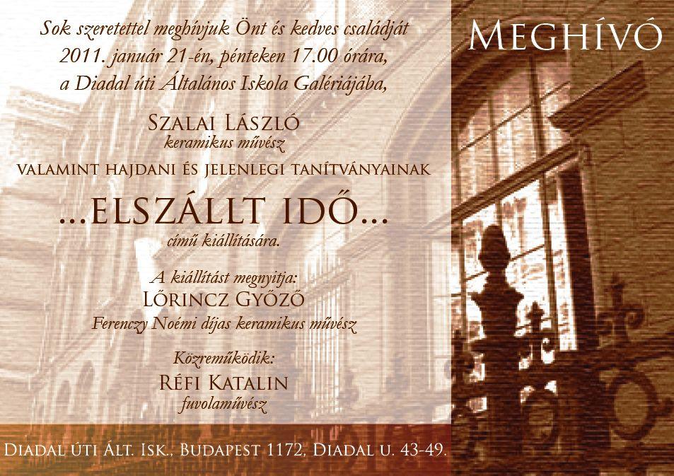 Szalai László és tanítványai 2011.01.21.