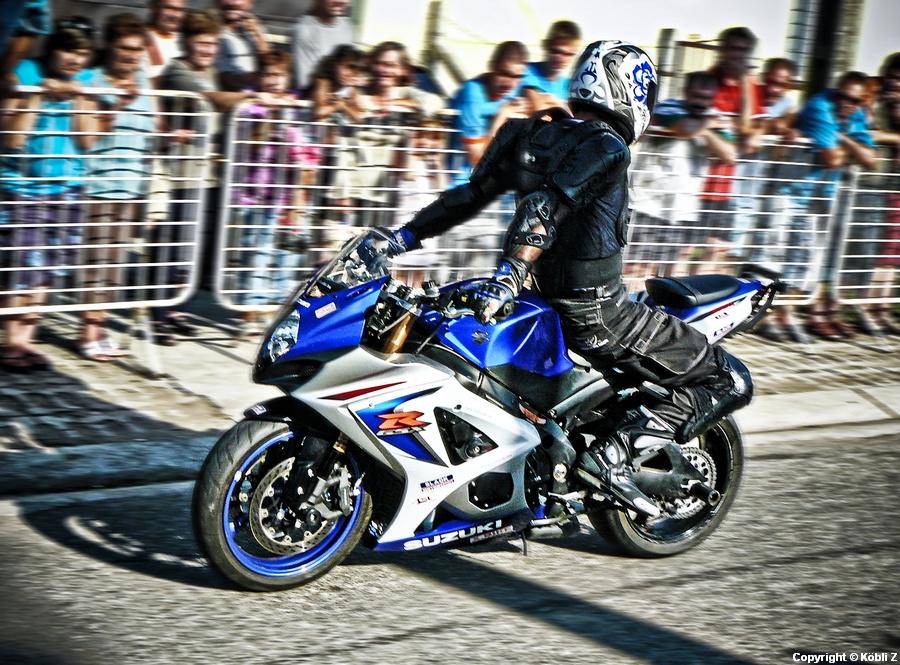 Stunt ride