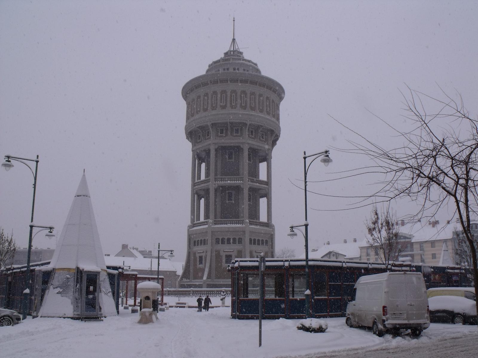 Tél a Szt. István téren